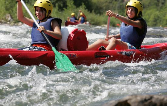 Descente ludique canoë-kayak
