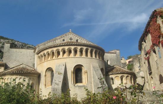 Abbaye de Gellone, classé au patrimoine mondial de l'Unesco