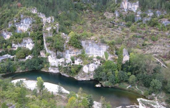Passage dans les Gorges du Tarn
