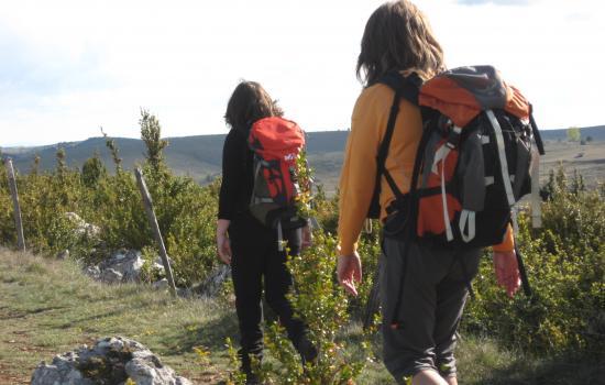 Grande randonnée entre Cévennes et Grands Causses
