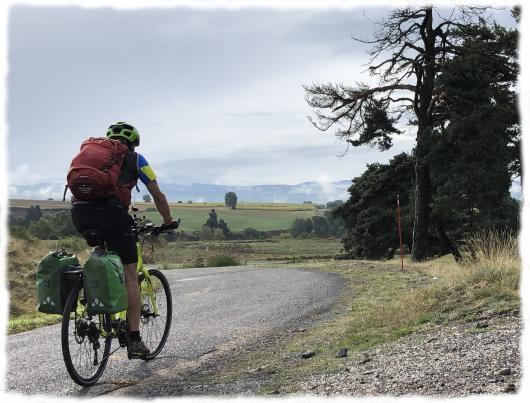 Sillonner à vélo sur les petites routes de Margeride et d'Aubrac