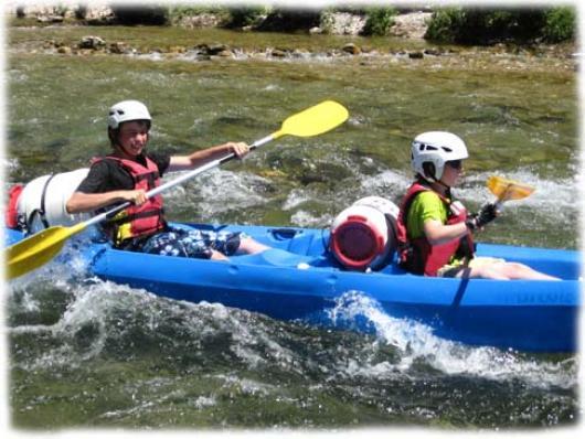 descente canoe gorges du tarn