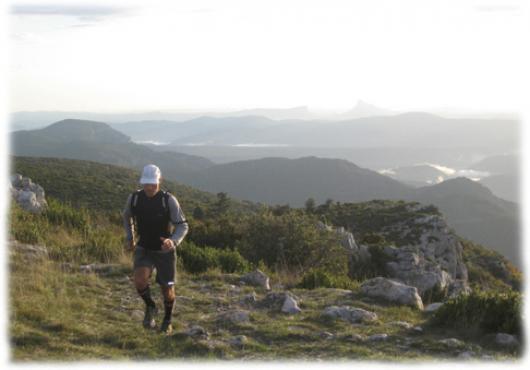 Plaisir du trail sur Larzac - Languedoc Nature