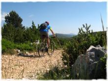 La Traversée de l'Hérault à VTT entre garrigue, vignes et montagne ...