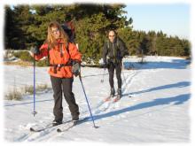 Itinerance nordique entre Mezenc et Montagne Ardechoise