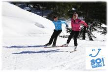 séjour ski de fond initiation ou perfectionnement, pas alternatif, skating, pas du patineur
