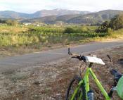 Cyclotourisme vignoble Terrasses du Larzac