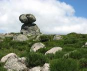 Blocs granit à la hauteur de Bellecoste